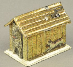 Doghouse Bank Penny Toy