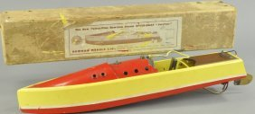 Boxed Bowman Speedboat W/box