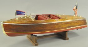 Chris Craft Scale Model
