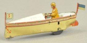 Meier Speedboat Penny Toy