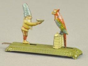 Meier Gnome Feeding Parrot Penny Toy