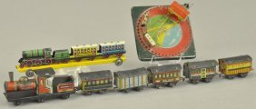 Large Grouping Of Train Set Penny Toys
