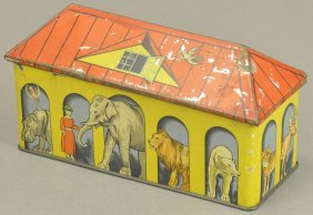 Zoo Biscuit Tin