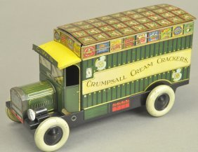 Chad Valley Biscuit Tin Delivery Truck