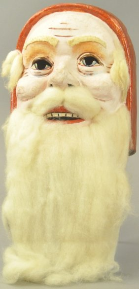 Santa Mardi Gras Mask