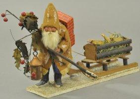 Black Forest Santa & Sleigh