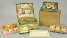 Merry Christmas Box Of Soaps