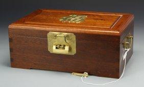 Chinese Huanghuali Jewelry Box