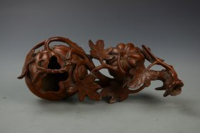 Chinese Wood Ornament