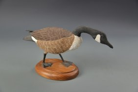Canadian Goose Carving