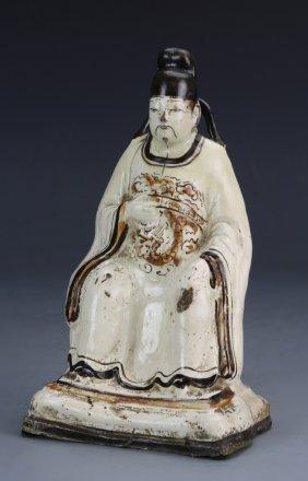 Chinese Cizhou Ware Figure