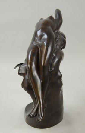 Bronze Lady Figure
