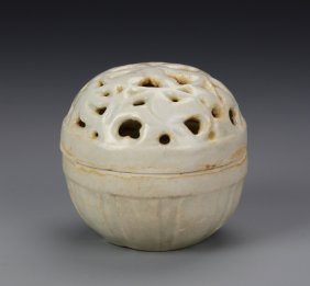 Chinese Ying Qing Glazed Censer