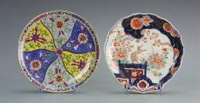 Two Japanese Imari Plates