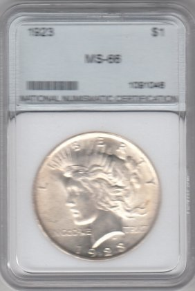One Dollar Silver Coin