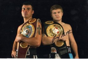 Ricky Hatton Signed Photo.