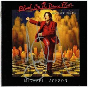 Michael Jackson Signed Cd Inlay.