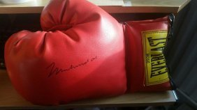 Muhammad Ali Signed Boxing Glove.