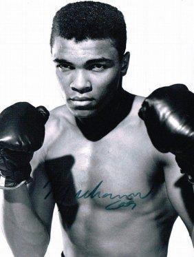 Muhammad Ali Signed Photo.