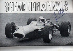 Jim Clark Signed British Programme.