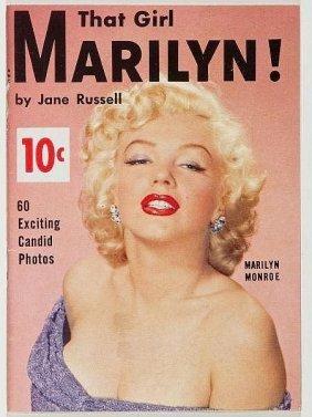 Rare Marilyn Monroe 1954 - That Girl Marilyn! Magazine.