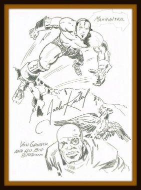 Jack Kirby: Manhunter And Von Gruber.