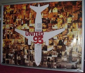 Job Lot Of 5: United 93 British Quad Poster 30x40.
