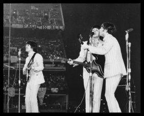 The Beatles At Shea Stadium August 15 1965.