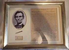 Abraham Lincoln Presentation.