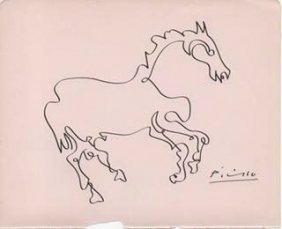 Pablo Picasso Drawing.
