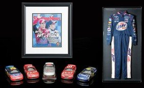 Rusty Wallace Driver's Uniform And Assorted Extras
