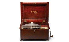 Empress Concert Grand Music Box