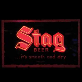 2056-Stag Beer Neon