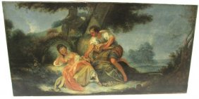 Jean-honoré Fragonard French Oil On Canvas