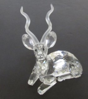 1994 Swarovski Crystal Kudu Inspiration Africa