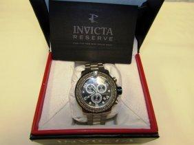 Invicta Reserve Watch 12534 Pro Diver Chronograph W Box