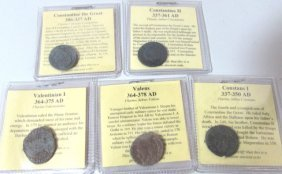 5 Ancient Coins