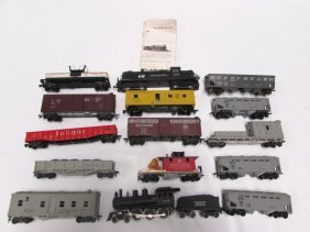 Toy Train Lot Cars Engines Locomotive Collectible
