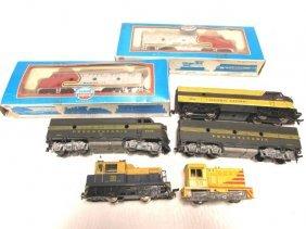 Toy Train Lot Locomotive Engines Santa Fe Penn