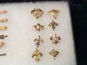 Eight Victorian Watch Hangers