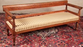 Early American Cherry Settee