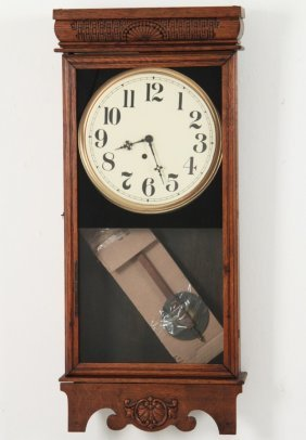 American Oak 30 Hour Wall Clock