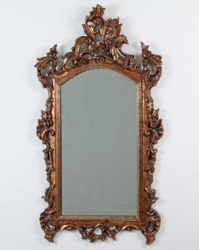Gold Gilt Composition Mirror