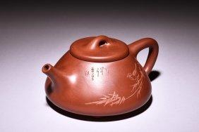 Yixing Zisha 'bird' Teapot
