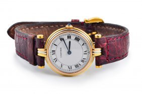 Cartier Ladies' Gold Watch