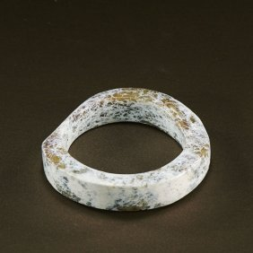 A Chinese Unearthed Jade Bangle