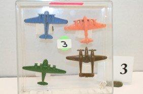 1 Metal Sea Plane, B-28 Metal Plane, 2 Plastic Plane