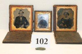 (3) Daguerreotype Case