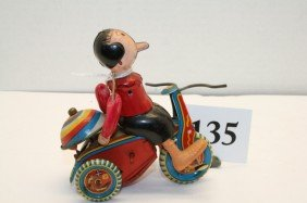 Linemar Olive Oyl On Tricycle