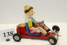 Linemar Pinocchio Go Cart